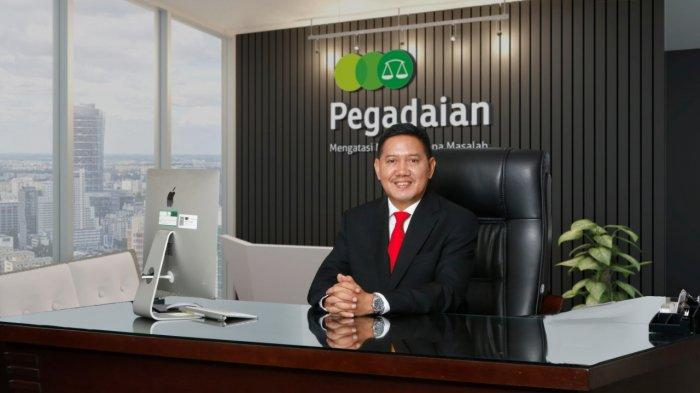 Direktur Utama PT Pegadaian (Persero), Kuswiyoto