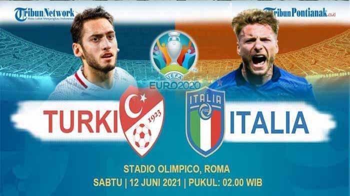 Line Up Italy vs Turkey & Turki vs Italia Prediksi Skor ! Turki vs Italia RCTI Jam Berapa ?