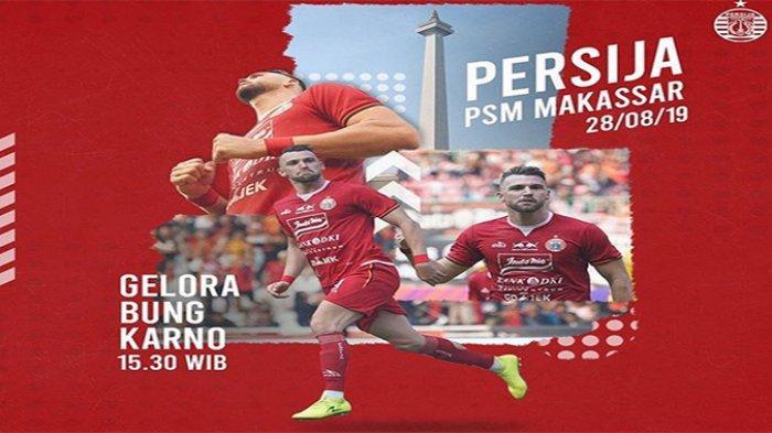 Laga Tunda Liga 1 Persija Jakarta Vs PSM Makassar, Misi Pembalasan Tropi Piala Indonesia yang Hilang