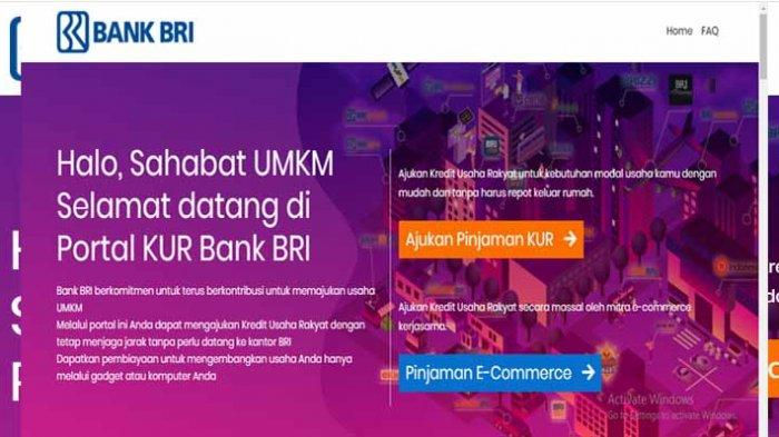 CARA Ajukan Pinjaman KUR BRI hingga 50 Juta Tanpa Agunan Secara Online Login https://kur.bri.co.id