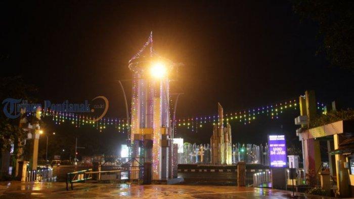 Lampu Hias Semarakkan Jalanan di Kota Pontianak - lampu-hias_20180612_201321.jpg