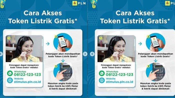 LANGKAH Klaim Token Gratis PLN Bulan Juli, Login www.pln.co.id atau Lewat WhatsApp 08122-123-123