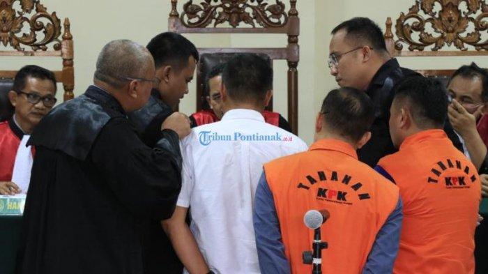 FOTO: Sidang Lanjutan Terdakwa Tipikor Mantan Bupati Bengkayang, Suryadman Gidot - lanjutansidanggidot.jpg