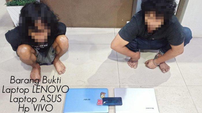 Mencuri Laptop, Dua Pemuda Ditangkap Personel Polres Ketapang