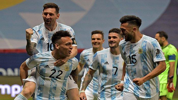 GOLLL Skor Argentina Vs Colombia Live Streaming ChampionsTV 3 dan Indosiar Semifinal Copa America