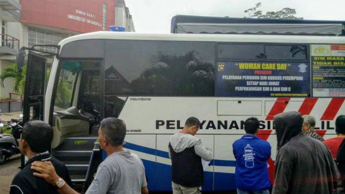 Layanan SIM Keliling Kamis di RS Untan
