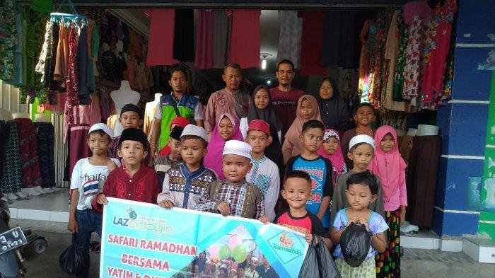 LAZ Sidogiri Gelar Safari Ramadan Bersama Anak Yatim dan Duafa