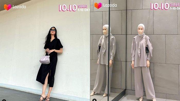 Lazada Promo Baju Wanita, LAZADA 10.10 Sale Murah Nampol Bonus Dadakan 500 Ribu & Serba 10 Ribu