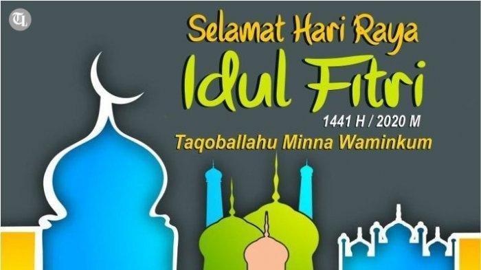 Ucapan Hari Raya Idul Fitri Sesuai Sunnah, dan Selamat Lebaran Cocok untuk Greeting Card Idul Fitri