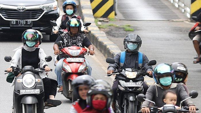 FOTO : Suasana Arus Lalu Lintas di Kawasan Jembatan Kapuas 1 Pontianak - lengang-2.jpg