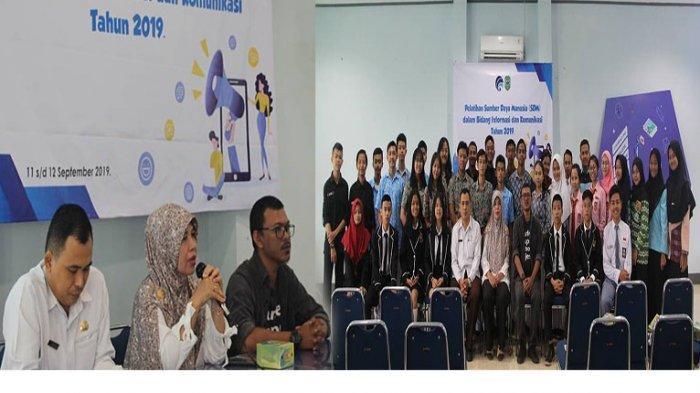 Diskominfo Singkawang Latih Pelajar Jurnalistik dan Fotografi