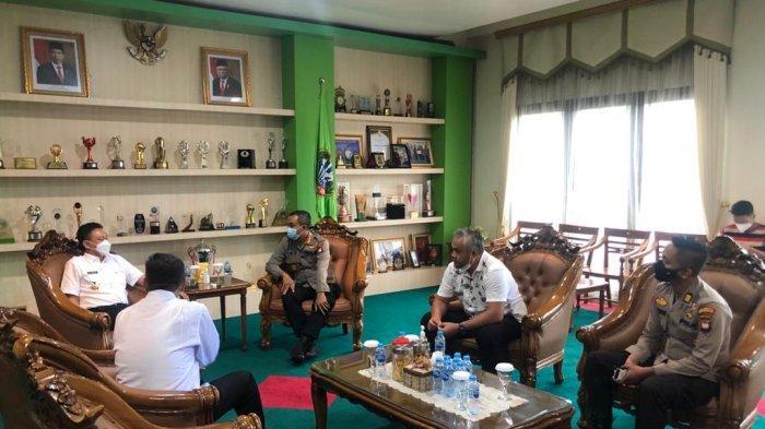 Rapat Penanganan Covid-19, Kapolresta: Perketat PPKM Skala Mikro di Pontianak