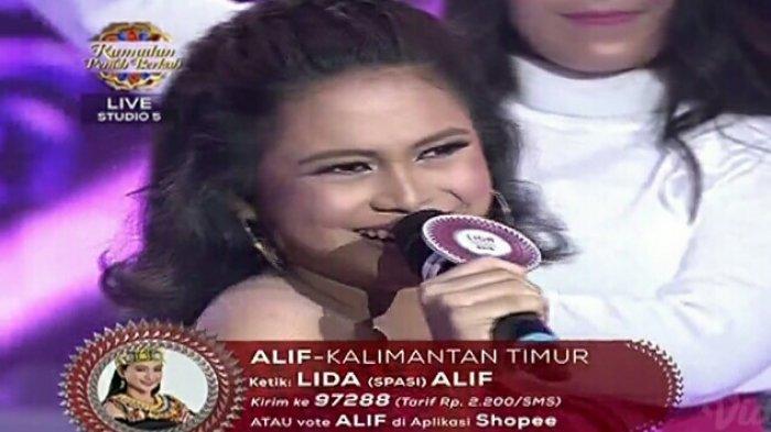 LIDA 2019 Top 9 Grup 1 Result Show! Bawakan 'Pecah Seribu', Aksi Alif Kaltim Dikritik Juri Nassar