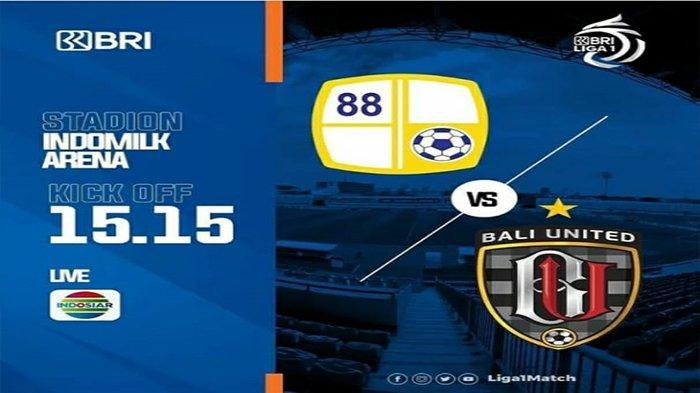SEDANG BERLANGSUNG Bali United vs Barito Putera Sekarang Liga 1 Lengkap Update Skor Live Indosiar