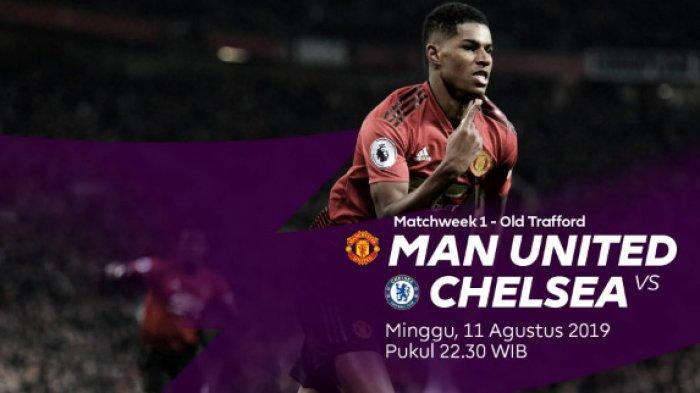 LIVE Mola TV Liga Inggris MU Vs Chelsea, Head To Head MU Vs Chelsea ! Ujian Super Big Match Lampard