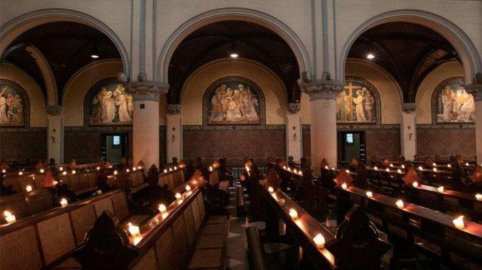 JADWAL Lengkap Misa Tri Hari Suci, Kamis Putih Jumat Agung Vigili Paskah Streaming Misa Paskah 2021