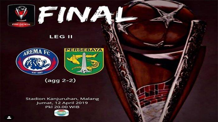 FINAL Piala Presiden 2019,42 Ribu Supporter Tonton Langsung di Stadion, Hasilkan Pendapatan Miliaran