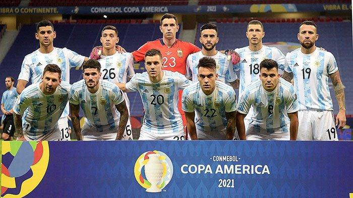 Susunan Pemain Brazil vs Argentina Lengkap Live Final Copa America Jam 07.00 Minggu 11 Juli 2021