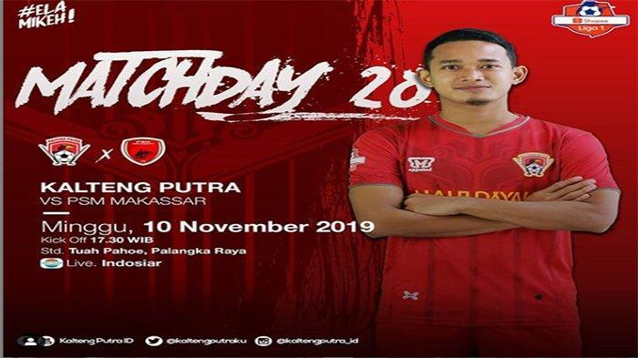 Prediksi Susunan Pemain Kalteng Putra Vs PSM Makassar Shoppe Liga 1