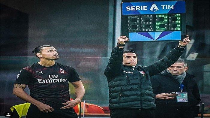 Line-up Pemain & Link Live Streaming Cagliari vs AC Milan - Pioli Duetkan Ibrahimovic & Rafael Leao