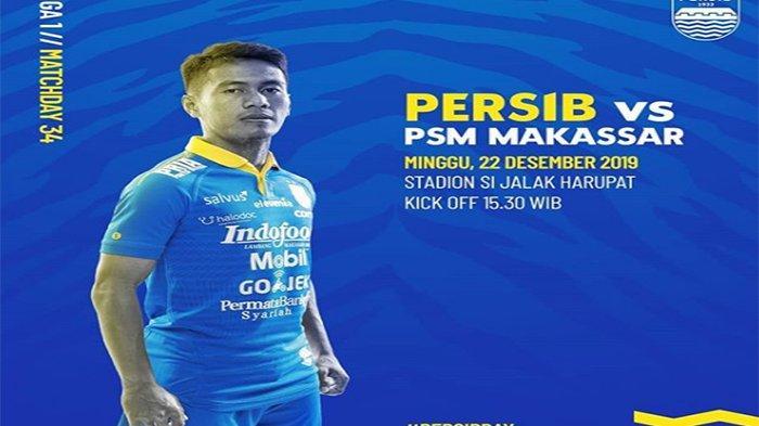 LINE UP Persib Vs PSM di Laga Penutup Liga 1 2019, Partai Perpisahan Darije Kalezic dan Hariono