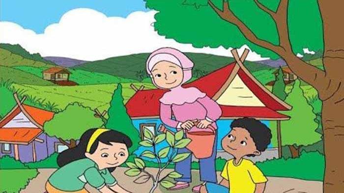 KUNCI Jawaban TEMA 8 Kelas 5 Halaman 36 37 38 39 40 41 Subtema 1 Pembelajaran 5 Lagu Kampungku
