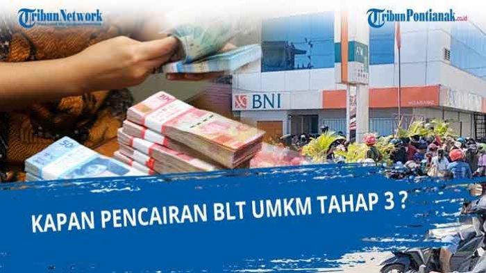 e.form.bri.co.id UMKM 2021 Tahap 3 & Cek Syarat serta Cara Mencairkan Banpres BPUM Rp1,2 Juta
