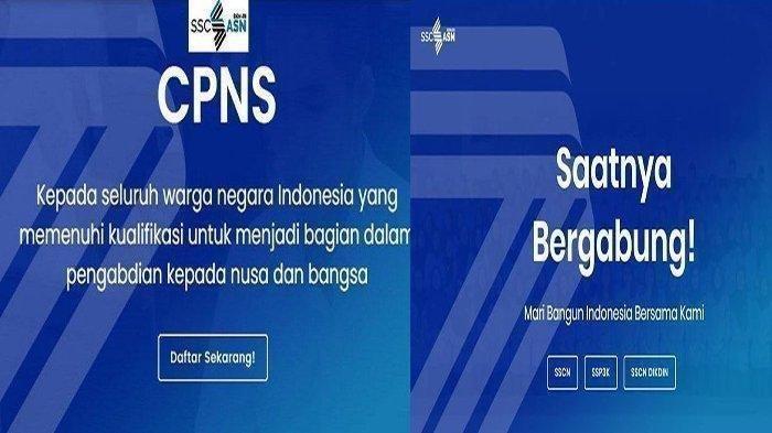 LINK CPNS Tahun 2021 sscn.bkn.go.id Login Daftar, Batas Pendaftaran CPNS Tinggal Menghitung Hari !