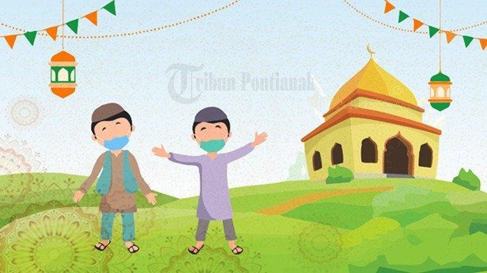 Link Download Gambar Ucapan Idul Fitri 2021 dan Download Aplikasi Membuat Gambar Ucapan Idul Fitri