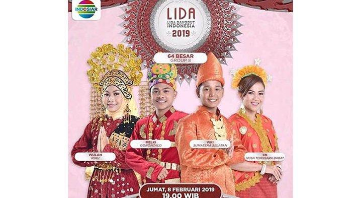 LIDA 2019, Wulan Riau Tertinggi! Viki Sumatera Selatan Tersenggol di Panggung Liga Dangdut Indonesia