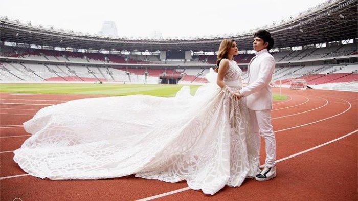 LINK Live Streaming Pernikahan Aurel Hermansyah dan Atta Halilintar, Presiden Jokowi Jadi Saksi