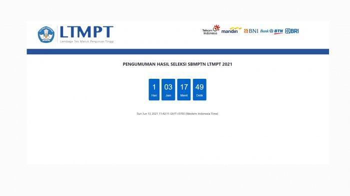 Senin 14 Juni 2021 Pengumuman SBMPTN 2021, Gini Cara Cek Hasil SBMPTN 2021 Melalui Link Resmi LTMPT
