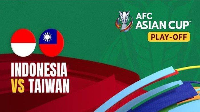 LINK TV Online Indonesia Vs Taiwan Live Malam Ini - Cek Hasil Timnas di Klasemen AFC Cup 2023