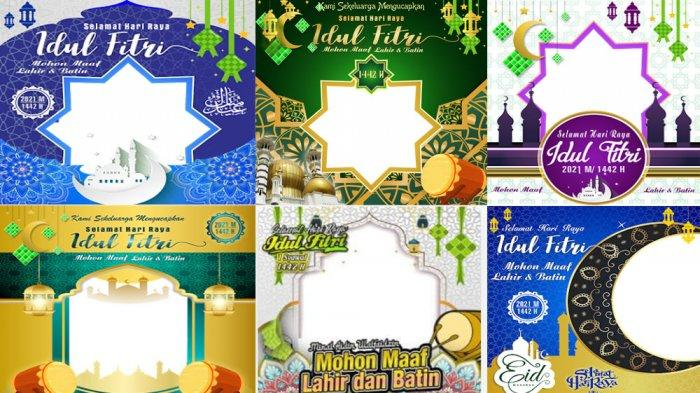 LINK TWIBBON IDUL FITRI 1442 H Gratis, Download Twibbonize Idul Fitri 2021 Lengkap Ucapan idul Fitri