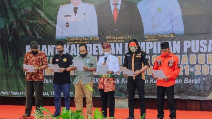 Sejumlah Komunitas Pemuda Lintas Etnis Deklarasi Damai, Guntur: Sepakat Jaga Perdamaian di Kalbar