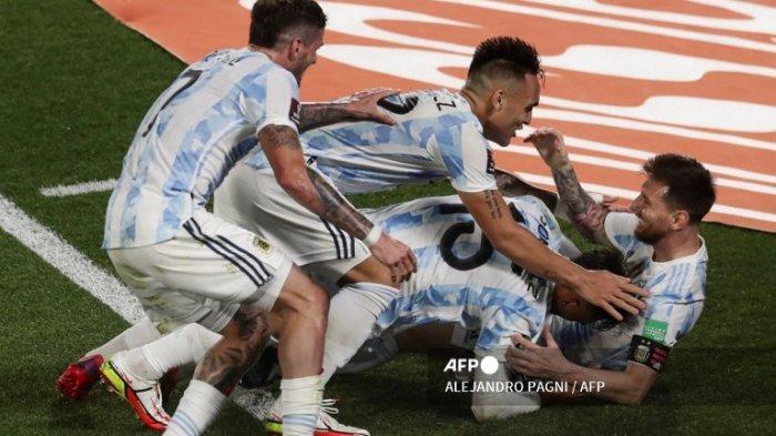 Klasemen Kualifikasi Piala Dunia Zona Conmebol Usai Argentina Kalahkan Uruguay dan Brazil Imbang