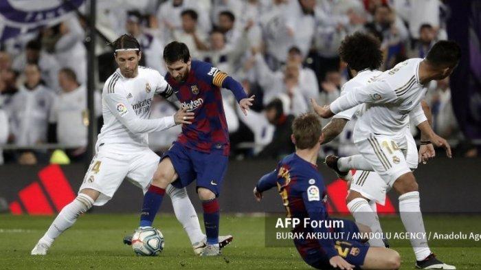 SUSUNAN Pemain Barcelona Kontra Real Madrid di El Clasico Malam Ini, Adu Tajam Messi - Benzema