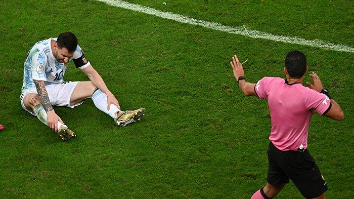 Argentina Vs Brazil Real Final Copa America 2021! Kiper Argentina Martinez Gagalkan 3 Eksekutor