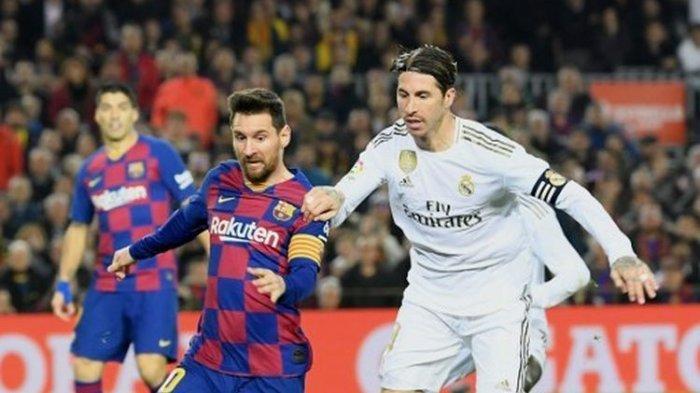 Jadwal Barcelona vs Real Madrid Siaran Langsung El Clasico ...