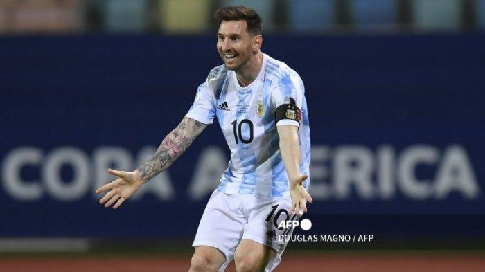 Lionel Messi Melawan Kutukan Road to Final Brasil Vs Argentina Copa America 2021
