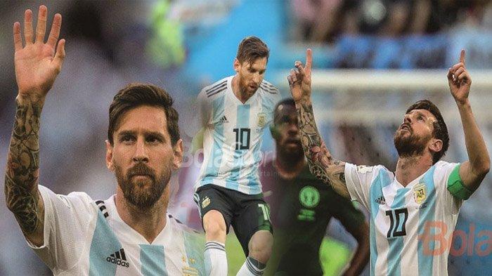 Argentina Lolos Dramatis, Ini Rekaman Pencapaian Fantastis dan Unik dari Lionel Messi