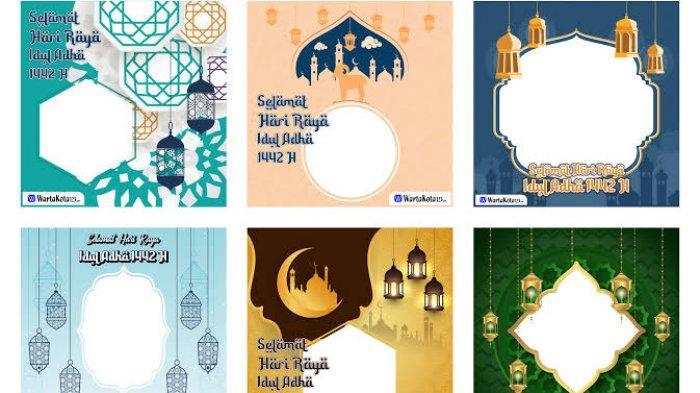 List Daftar 50 Link Twibbon Kartu Ucapan Selamat Hari Raya Idul Adha 2021