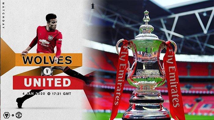 Live Bola Malam Ini: LIVE RCTI+ Wolves Vs Man United Live The Emirates FA Cup, Sabtu (4/1) Malam