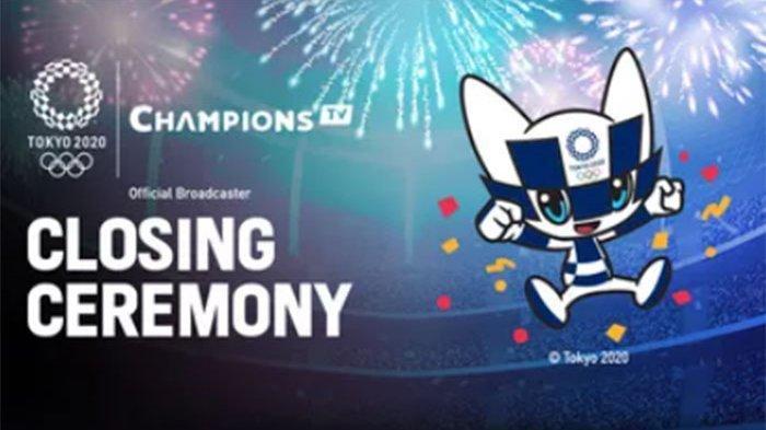 LIVE Closing Ceremony Olimpaide Tokyo Berlangsung Hari Ini Minggu 8 Agustus 2021, Tonton Disini