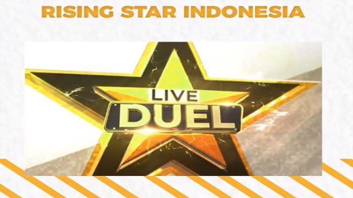 LIVE STREAMING Rising Star RCTI Live Duel 4 Mulai Jam 21.30 WIB, Buruan VOTE Jagoan Kamu