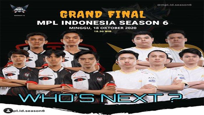 LIVE Grand Final MPL ID Season 6 RRQ Hoshi Vs Alter Ego - Duel Perebutan Tahta & Hadiah Rp 4 Miliar