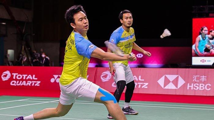 Cara Nonton Final Badminton BWF World Tour Finals Ahsan/Hendra vs Lee Yang/Wang Chi-Lin Live TVRI