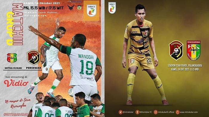 Live Hasil Persewar vs Mitra Kukar Liga 2 Indonesia 2021 Grup D