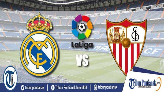 LIVE HASIL Real Madrid Vs Sevilla Big Match Liga Spanyol La Liga Pekan ke-20, Sabtu (18/1) Malam WIB
