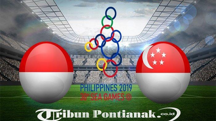 GOL! HASIL Timnas Indonesia vs Singapura - Gol Osvaldo Haay, Timnas Unggul | Klasemen Sea Games 2019